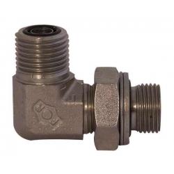 Niplu - Adaptor hidraulic tip cot orientabil 90° ORFS – GAZ - 7722