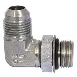 Niplu - Adaptor hidraulic tip cot orientabil 90° JIC – UNF 7623