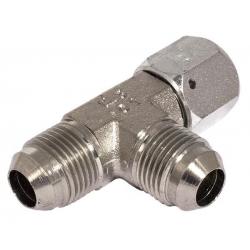 Niplu - Adaptor hidraulic tip T JIC – JIC olandeză lateral - 7663