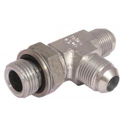 Niplu - Adaptor hidraulic tip T JIC – GAZ orientabil lateral - 7644