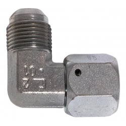 Niplu - Adaptor hidraulic tip cot 90° cu olandeză JIC - JIC - 7660