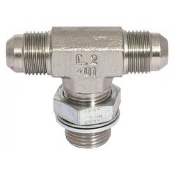 Niplu - Adaptor hidraulic tip T JIC - GAZ orientabil mijloc- 7641