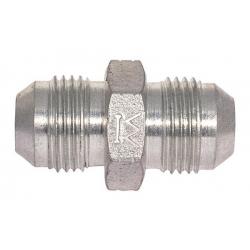 Niplu - Adaptor hidraulic drept JIC - JIC cu con - 7601