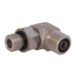 Niplu - Adaptor hidraulic tip cot orientabil 90° ORFS - JIC - 7723