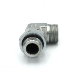 Niplu - Adaptor hidraulic tip cot orientabil 90° METRIC - GAZ - 6012