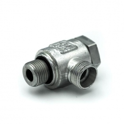 Niplu - Adaptor hidraulic rotativ tip banjo METRIC - GAZ - 6218
