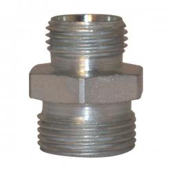 Niplu - Adaptor hidraulic drept inegal METRIC corp L - 6105