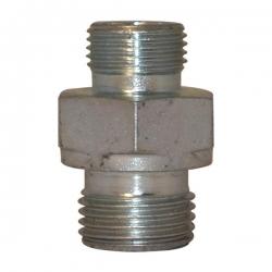 Niplu - Adaptor hidraulic drept METRIC - GAZ corp S - 6503