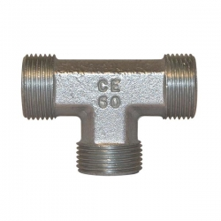 Niplu - Adaptor hidraulic tip T - METRIC corp L - 6043