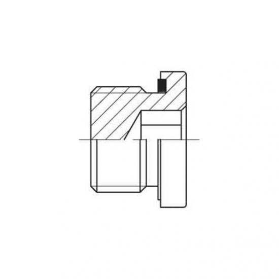 Dop metalic filetat GAZ - 7503