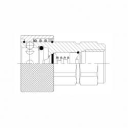 Cuplă rapidă hidraulică cu bile - mamă - 5550