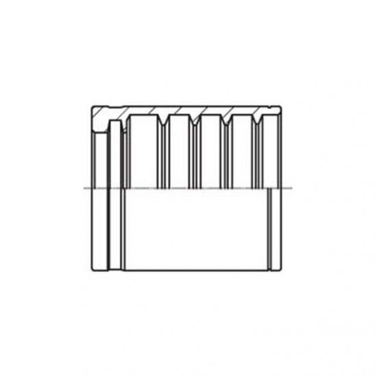 Bucșă din otel pentru furtun hidraulic 1SN - 4200
