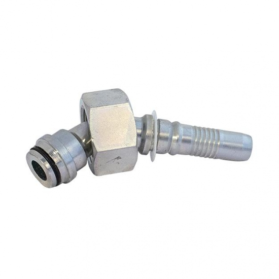 Fiting hidraulic Interlock tip cot 45 ° METRIC - mamă - 4475