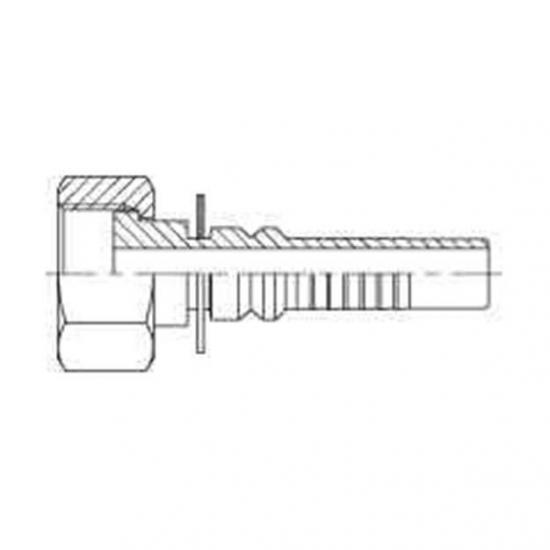 Fiting hidraulic INTERLOCK mama - ORFS -  4490